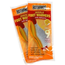 Hot Hands Insole Foot Warmers 2 Pack