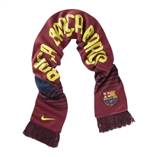 Nike FC Barcelona Replica Scarf (Midnight Navy/Storm Red/Vibrant Yellow)