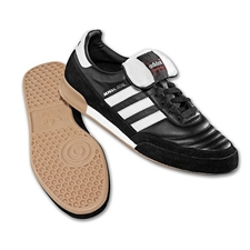 Adidas Mundial Goal Indoor Soccer Shoes (Black/Running White)