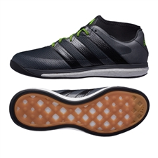 Adidas ACE 16.1 Street Soccer Shoes (Black/Night Metallic/Dark Grey)