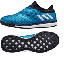 Adidas Messi 16.1 Street Soccer Shoes (Shock Blue/Night Metallic)