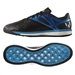 Adidas Messi 15.1 Boost Indoor Soccer Shoes (Black/Solar Blue/Zero Metallic)