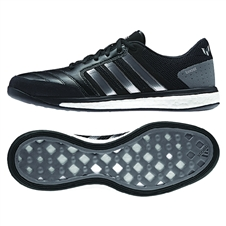 Adidas Freefootball Boost Messi Indoor Soccer Shoes (Black/Granite/White)