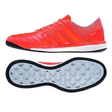 Adidas Freefootball Boost Indoor Soccer Shoes (Solar Red/Black/White)