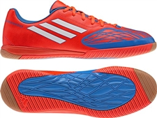 Adidas Freefootball SpeedTrick Indoor Soccer Shoes (Infrared/Running White/Techonix)