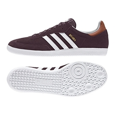 Adidas Samba Originals Indoor Soccer Shoe (Purple)