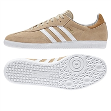 Adidas Samba Originals Indoor Soccer Shoe (Khaki)