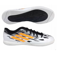 Adidas Freefootball SpeedTrick Indoor Soccer Shoes (White/Solar Gold/Black)