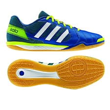 Adidas Freefootball Top Sala  Indoor Soccer Shoes (Blue Beauty/Running White/Electricity)