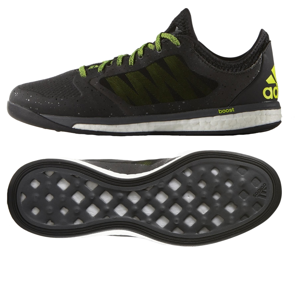 adidas x 15 1 vs boost indoor soccer shoes black solar yellow night metallic s82988 adidas. Black Bedroom Furniture Sets. Home Design Ideas