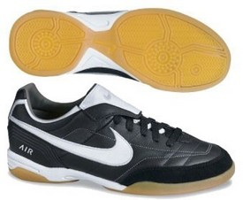 Nike Air Tiempo Mystic IC Plus Indoor Soccer Shoes (Black)