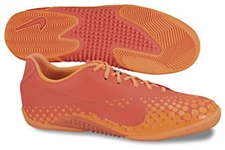 Nike5 Elastico Finale Indoor Soccer Shoes (Bright Crimson/Total Orange)