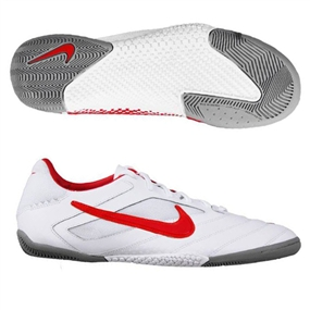 Nike5 Elastico Pro Indoor Soccer Shoes (White/Medium Grey/Max Orange)