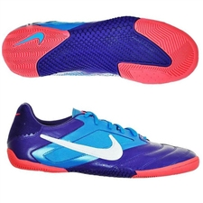 Nike5 Elastico Pro Indoor Soccer Shoes (Club Purple/Current Blue/Hot Punch/White)