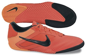 Nike5 Elastico Pro Indoor Soccer Shoes (Bright Crimson/Total Orange/Black)