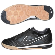 Nike5 Gato Leather Indoor Soccer Shoes (Black/White/Dark Shadow)