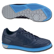 Nike5 StreetGato Soccer Shoes (Imperial Purple/Blue Glow/Wolf Grey)