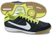 Nike Tiempo Mystic IV Indoor Soccer Shoes (Black/Electric Green/White)