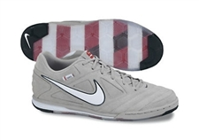 Nike5 Gato Especial Indoor Soccer Shoes (Wolf Grey/Varsity Red/Team Brown)