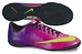 Nike Mercurial Victory IV Indoor Soccer Shoes (Fireberry/Red Plum/Black/Electric Green)