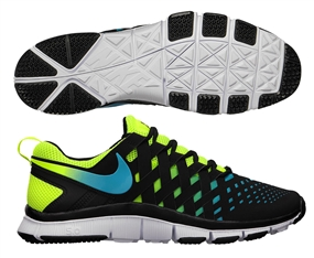 Nike Free Trainer 5.0 NRG Training Shoe (Volt/Current Blue/Black)