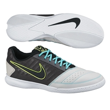 Nike FC247 Gato II Indoor Soccer Shoes (Wolf Grey/Black/Volt)
