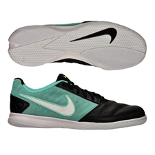 Nike FC247 Gato II Indoor Soccer Shoes (Neo Turquoise/White/Black)