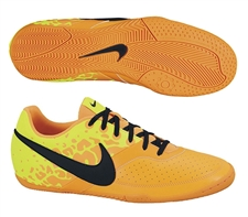 Nike FC247 Elastico II Indoor Soccer Shoes (Bright Citrus/Volt/Black)