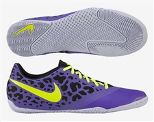 Nike FC247 Elastico Pro II Indoor Soccer Shoes (Pure Purple/Volt/Black)