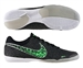 Nike FC247 Elastico Finale II Indoor Soccer Shoes (Black/White/Neo Lime)