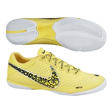 Nike FC247 Elastico Finale II Indoor Soccer Shoes (Sonic Yellow/Black/White)