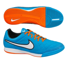 Nike Tiempo Legacy Indoor Soccer Shoes (Neo Turquoise/Hyper Crimson/Black/White)