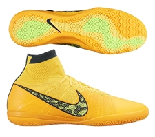 Nike Elastico Superfly IC Indoor Soccer Shoes (Laser Orange/Black/Tour Yellow/Volt)