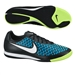 Nike Magista Onda IC Indoor Soccer Shoes (Black/Blue Lagoon/Volt/White)