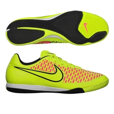 Nike Magista Onda IC Indoor Soccer Shoes (Volt/Metallic Gold/Black/Hyper Punch)