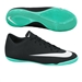 Nike Mercurial Victory V CR7 Indoor Soccer Shoes (Black/Neo Turquoise/White)