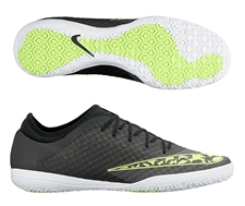 Nike FC247 Elastico Finale III Indoor Soccer Shoes (Midnight Fog/Black/Volt/White)