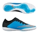 Nike FC247 Elastico Finale III Indoor Soccer Shoes (Blue Lagoon/Black/White/Total Crimson)
