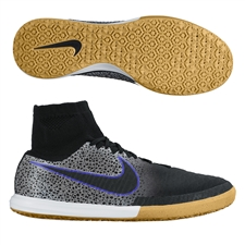 Nike MagistaX Proximo Street IC Indoor Soccer Shoes (Black/Wolf Grey/White)