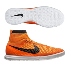 Nike MagistaX Proximo IC Indoor Soccer Shoes (Total Orange/Laser Orange/White/Dark Grey)