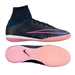 Nike MercurialX Proximo Street IC Indoor Soccer Shoes (Black/Pink Blast/Racer Blue)