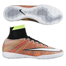 Nike MercurialX Proximo Street IC Indoor Soccer Shoes (Multi/Black/White)