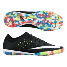 Nike MercurialX Finale Street IC Indoor Soccer Shoes (Black/White/Multi)