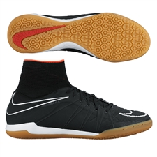 Nike HypervenomX Proximo IC Indoor Soccer Shoes (Black/Challenge Red/White)
