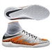 Nike HypervenomX Proximo IC Indoor Soccer Shoes (Wolf Grey/Black/Total Orange)