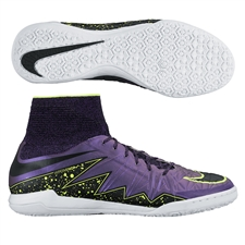 Nike HypervenomX Proximo IC Indoor Soccer Shoes (Hyper Grape/Volt/Black)
