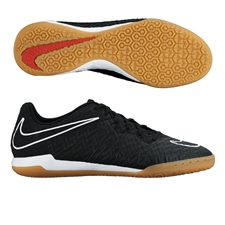Nike HypervenomX Finale IC Indoor Soccer Shoes (Black/White/Challenge Red)