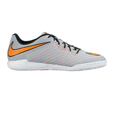 Nike HypervenomX Finale IC Indoor Soccer Shoes (Wolf Grey/Black/Total Orange)