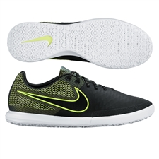 Nike MagistaX Finale IC Indoor Soccer Shoes (Black/Volt/White)