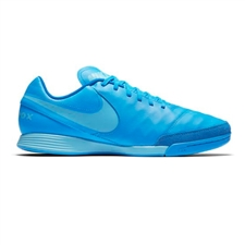Nike Tiempo Genio II IC Indoor Soccer Shoes (Blue Glow/Polarized Blue/Soar)